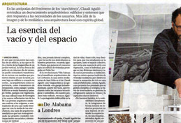 Article al suplement cultural Tendencias