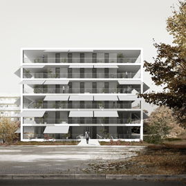 1st prize Social housing Competition in Sant Just Desvern