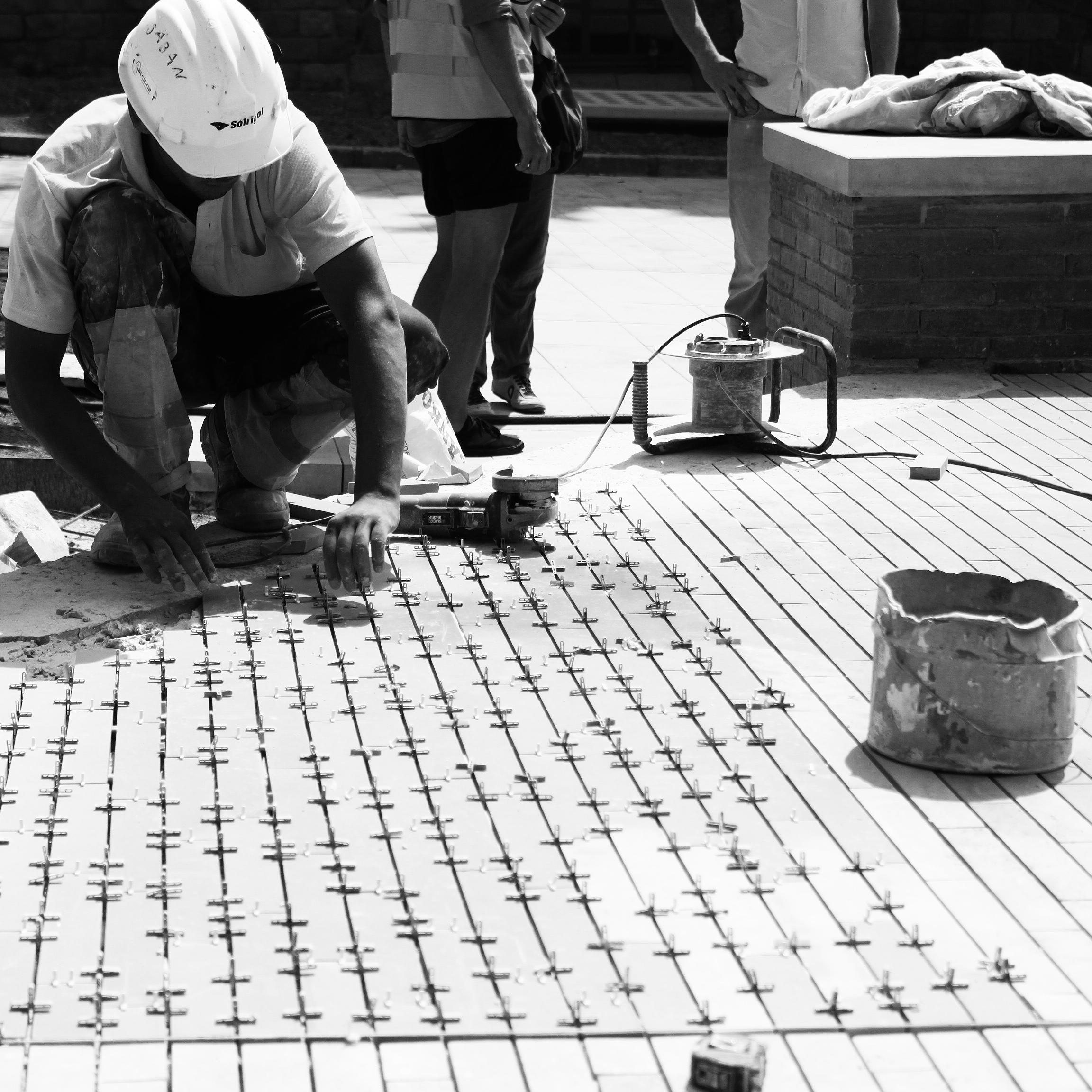 construccin de los jardines del recinto histrico del hospital de santa creu i sant pau