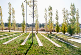 Central park in St. Pere de Ribes is selected in Rosa Barba European Landscape Award