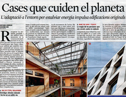 Publication La Vanguardia. 2014