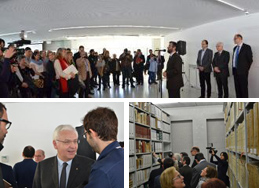Opening of the new headquarters of the Baix Llobregat Comarcal Archive